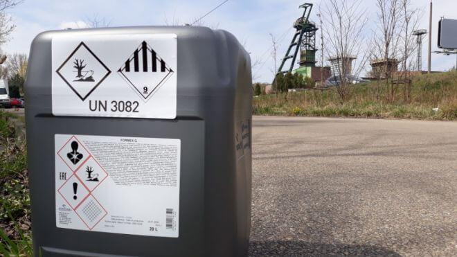 Olej adhezyjny Orlen Formex Q dostarczony w Katowicach