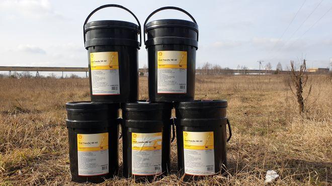 Olej grzewczy Shell Transfer Oil S2 z dostawą w Katowicach