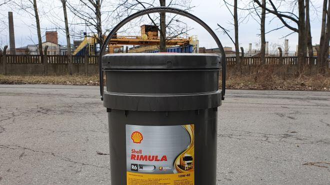 Olej silnikowy Shell Rimula R6 M 10W-40 do Katowic