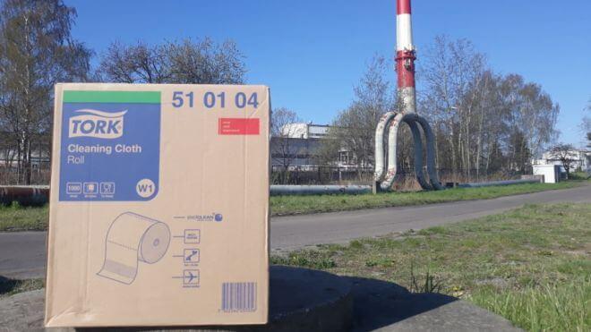 Czyściwo Tork 51 01 04 w rolce Katowice